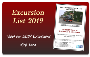 View our 2018 Excursion List