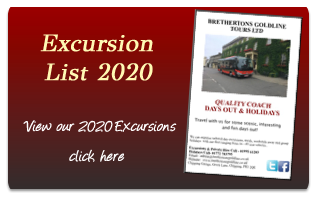 View our 2020 Excursion List