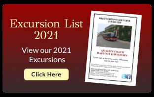 View our 2021 Excursion List
