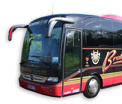 Brethertons Gold Line Tours Coach