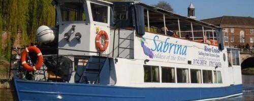 Shrewsbury + Sabrina Boat