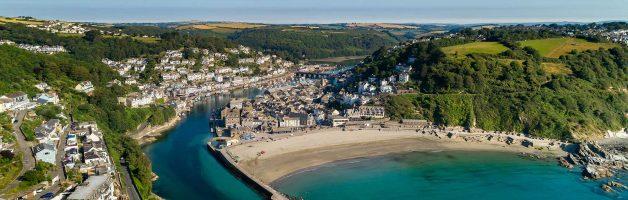 Cornwall – Looe & Polperro (Port Byhan Hotel, Looe)